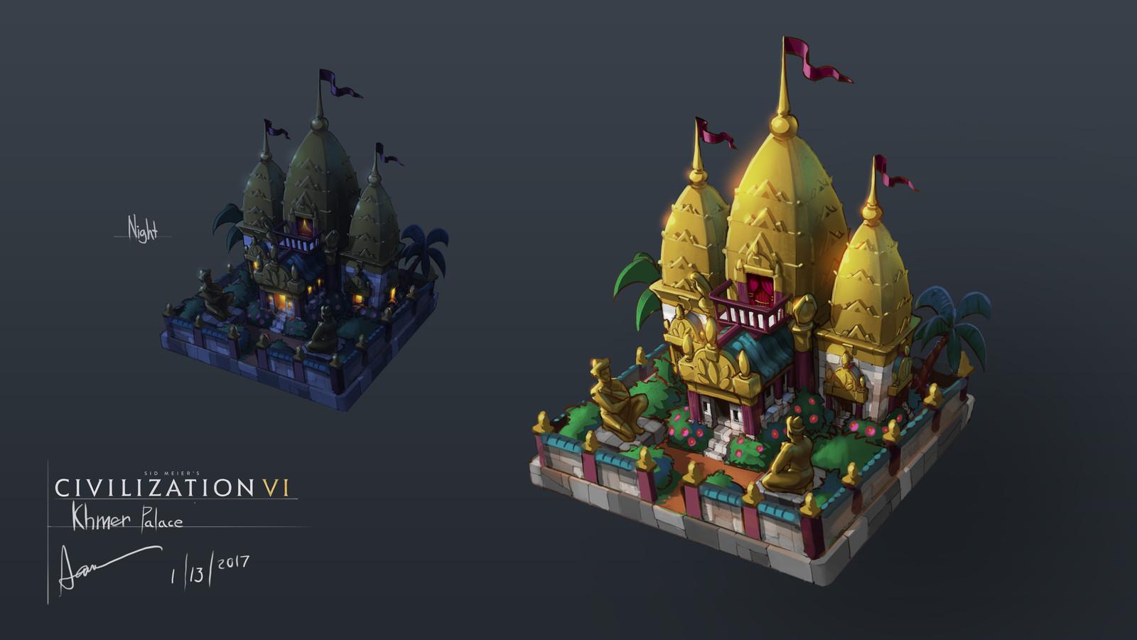 Khmer City Palace