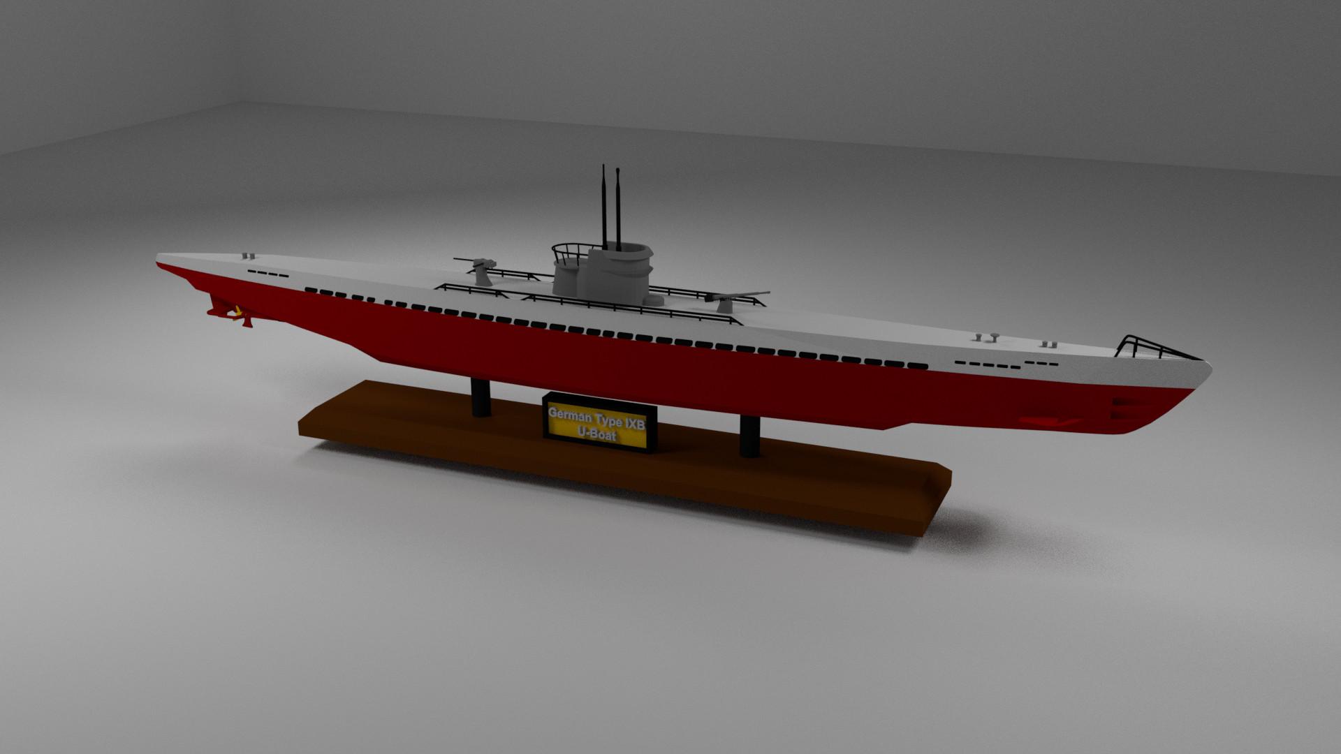 German submarine U-735