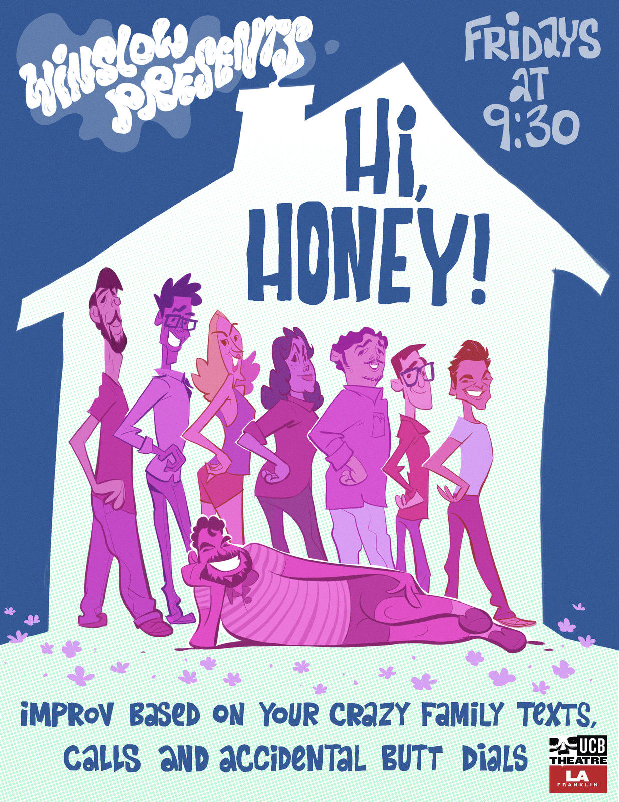 UCB Hi Honey Poster!