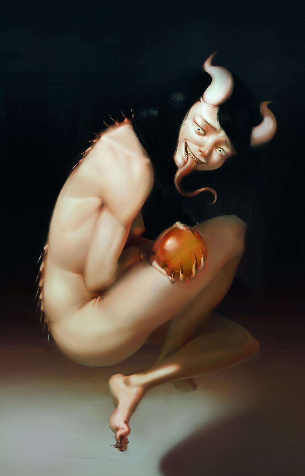 Demon Girls: Apple Demon