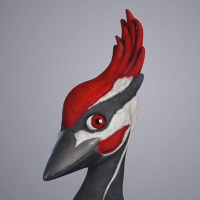 Aaron sturgeon woodpecker render