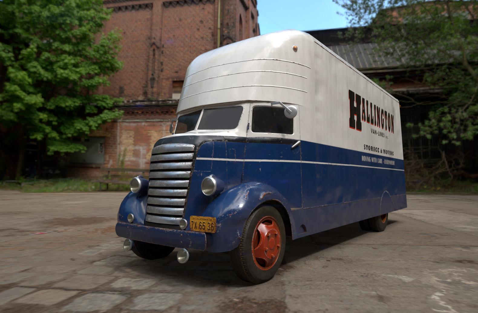 Eugene wong movingvan