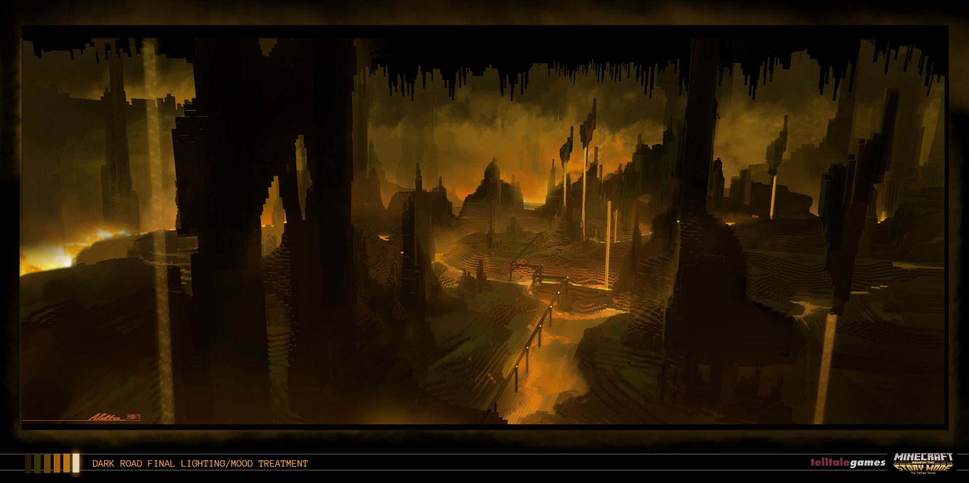 ArtStation - Concept Art and Lighting Direction from
