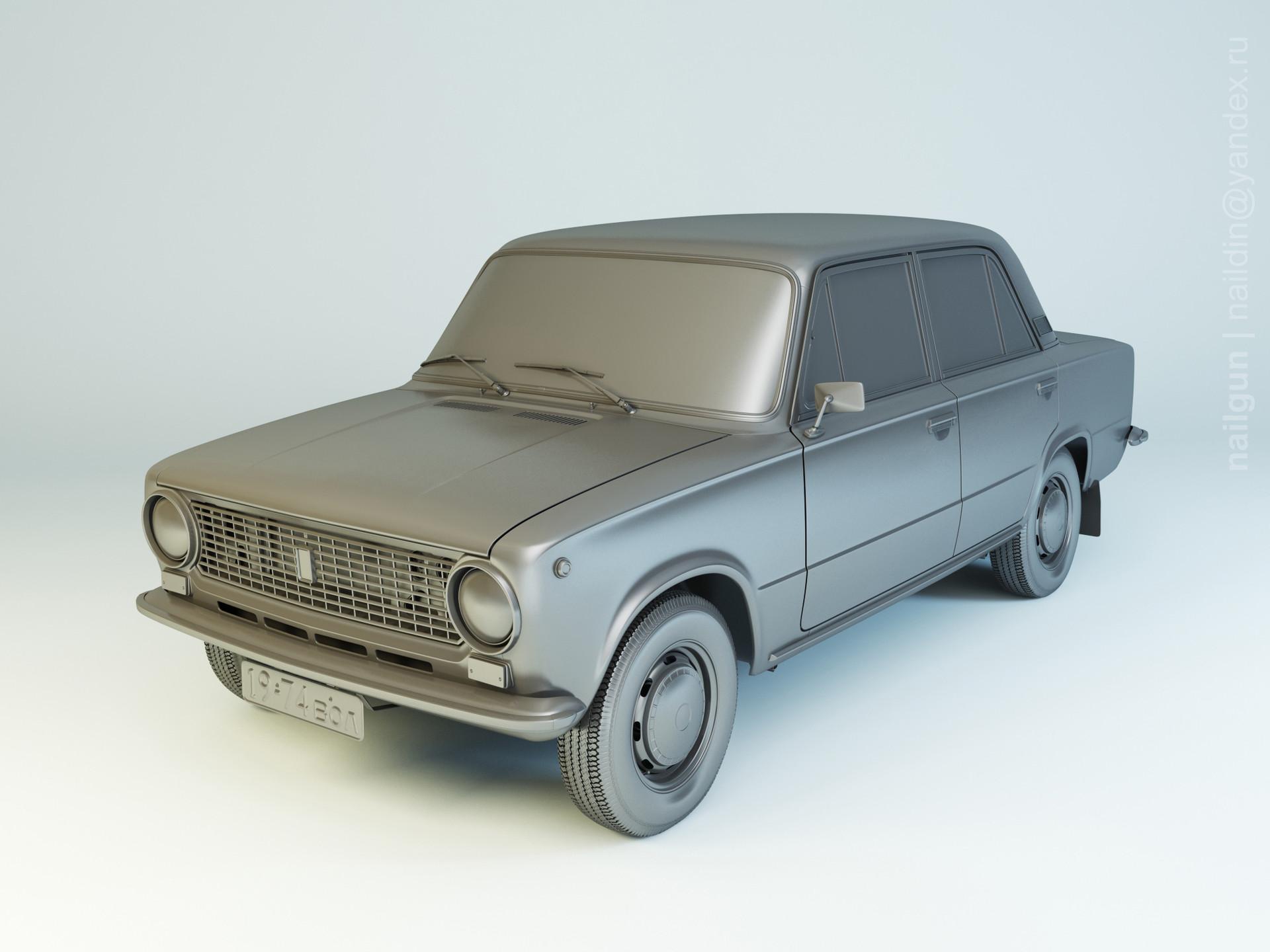 Nail khusnutdinov al123 003 vaz 21011 modelling 0