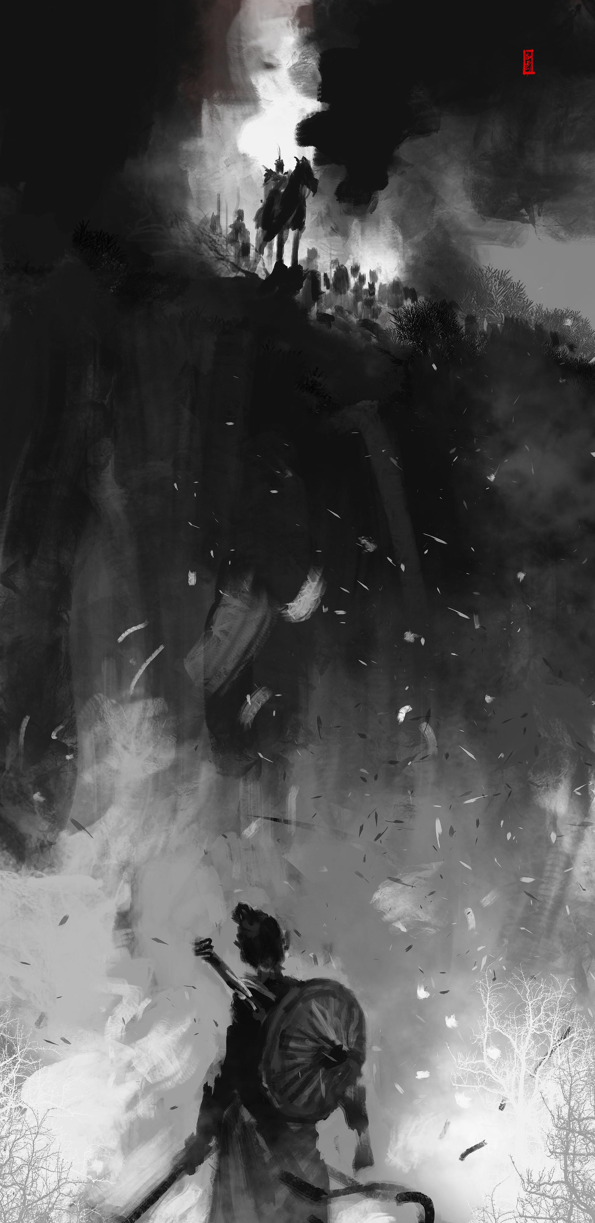 ArtStation - The night, KAIJIE HUANG