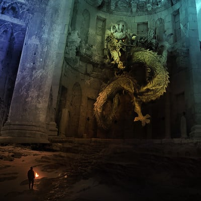 Oleg danylenko dragon temple