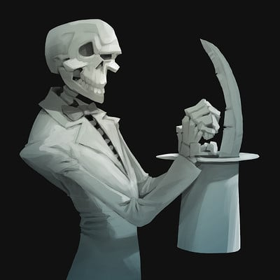 Ivan nikulin magician death sketch