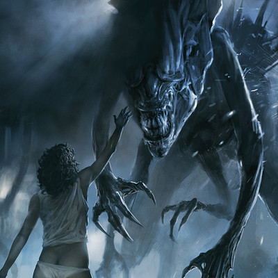 Charidimos bitsakakis alien queen vs ripley 3 small