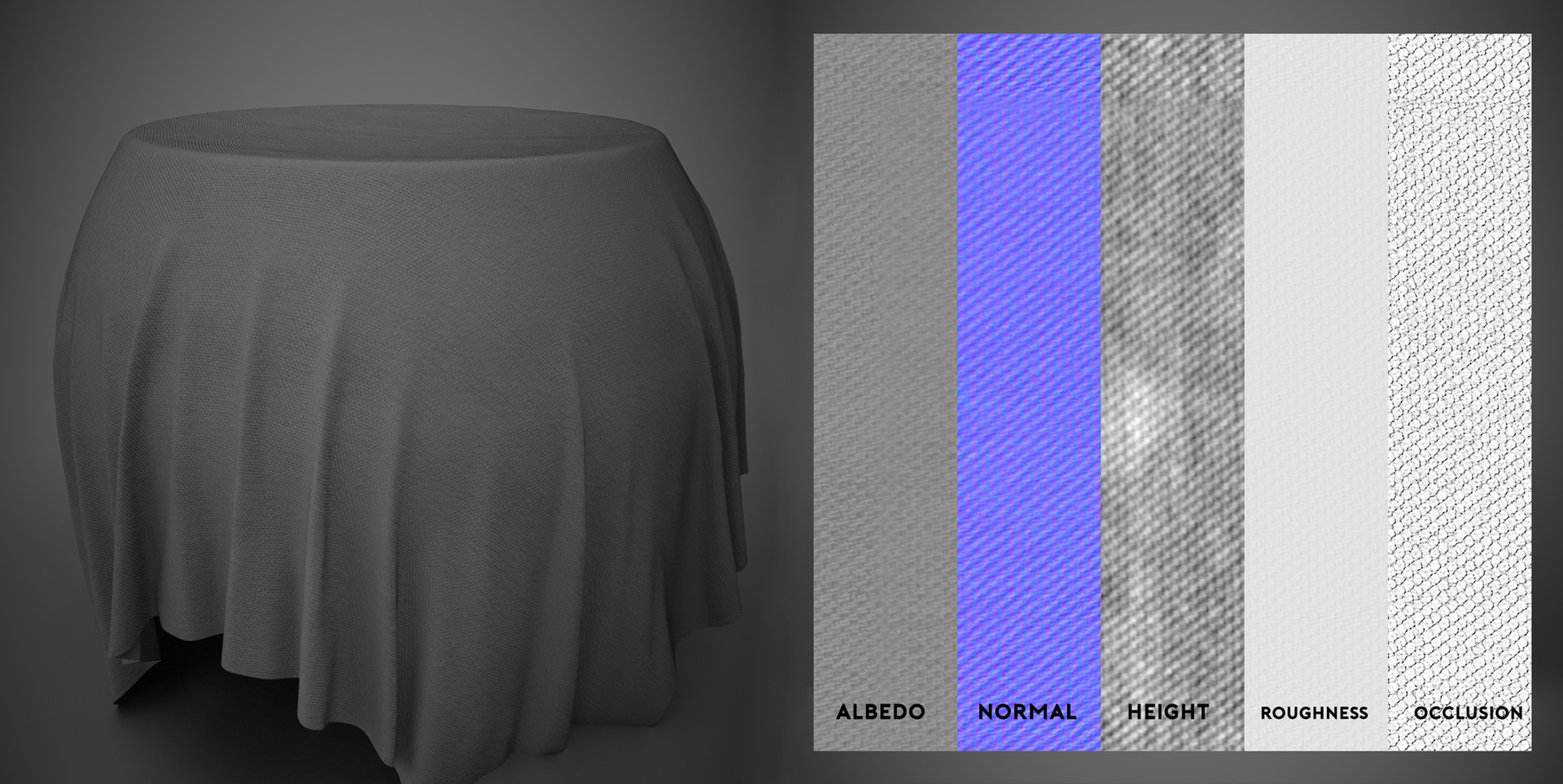 Grain Fabric - Substance Material Scan