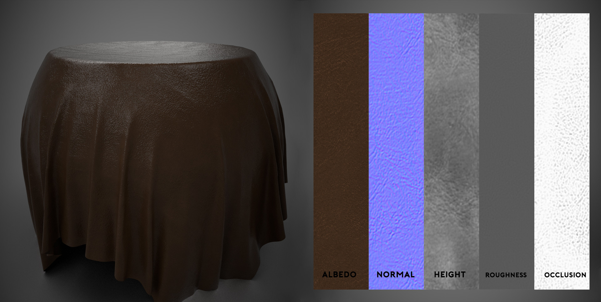 Maltic Leather - Substance Material Scan