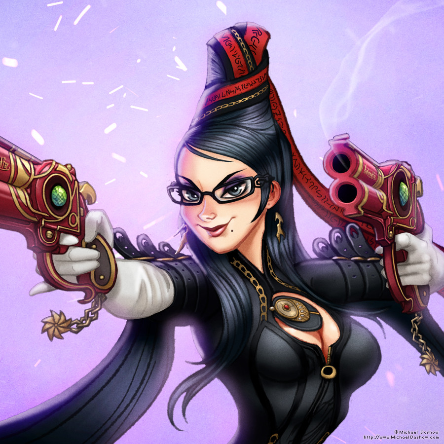 Michael dashow bayonetta detail 900x900