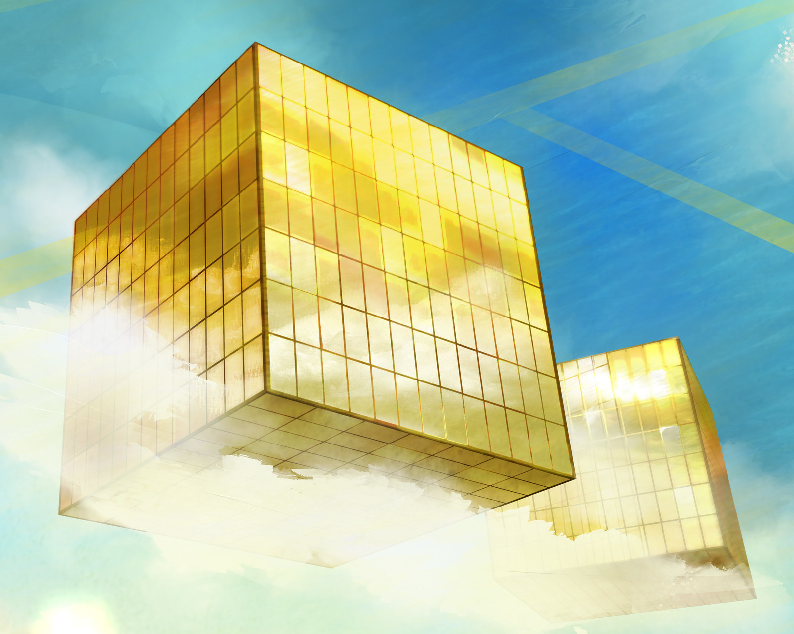 ~The Gold Towers that make dreams come true, or so they say~