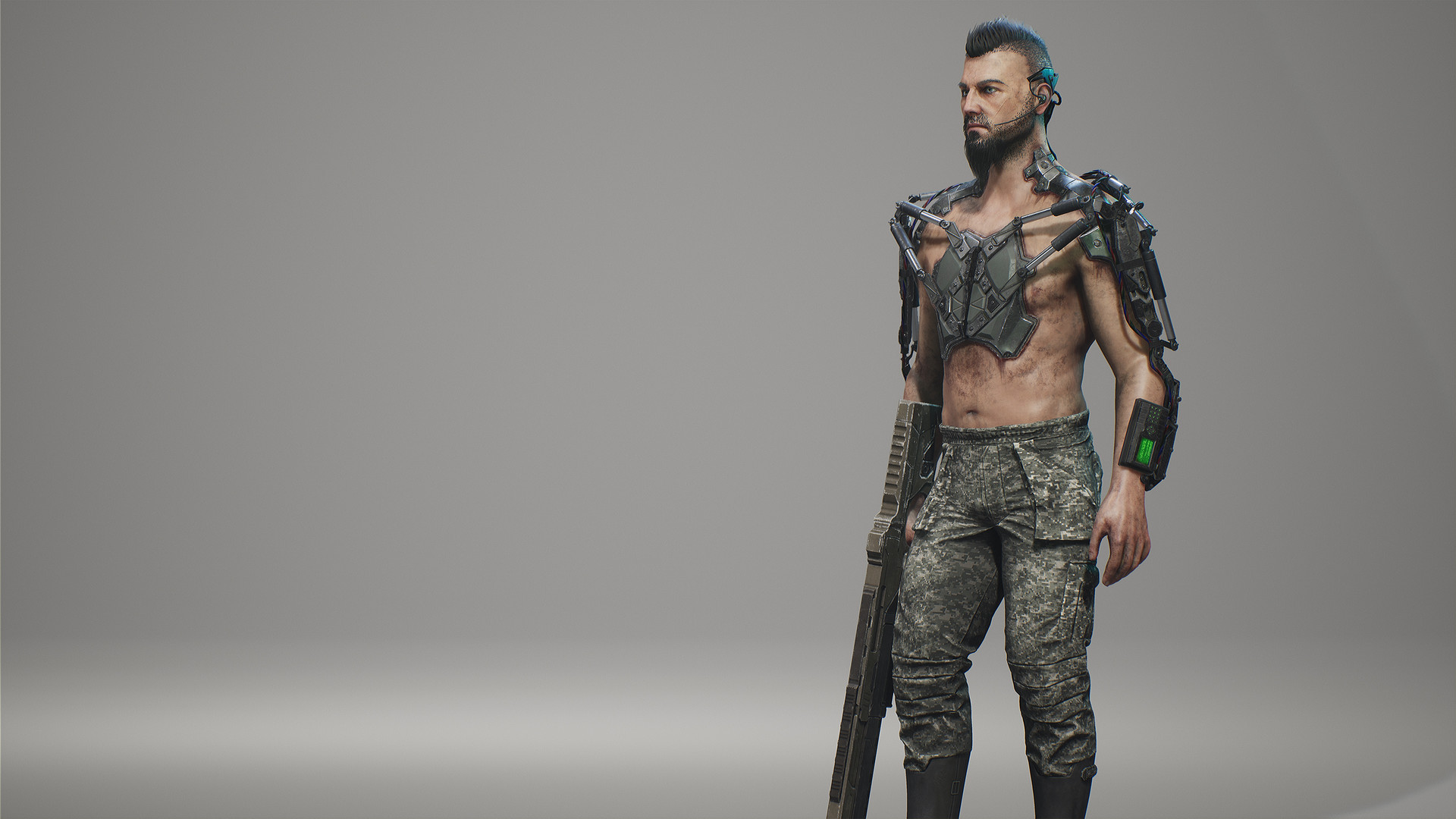 ArtStation - Realtime Character in Unreal Engine 4 for free