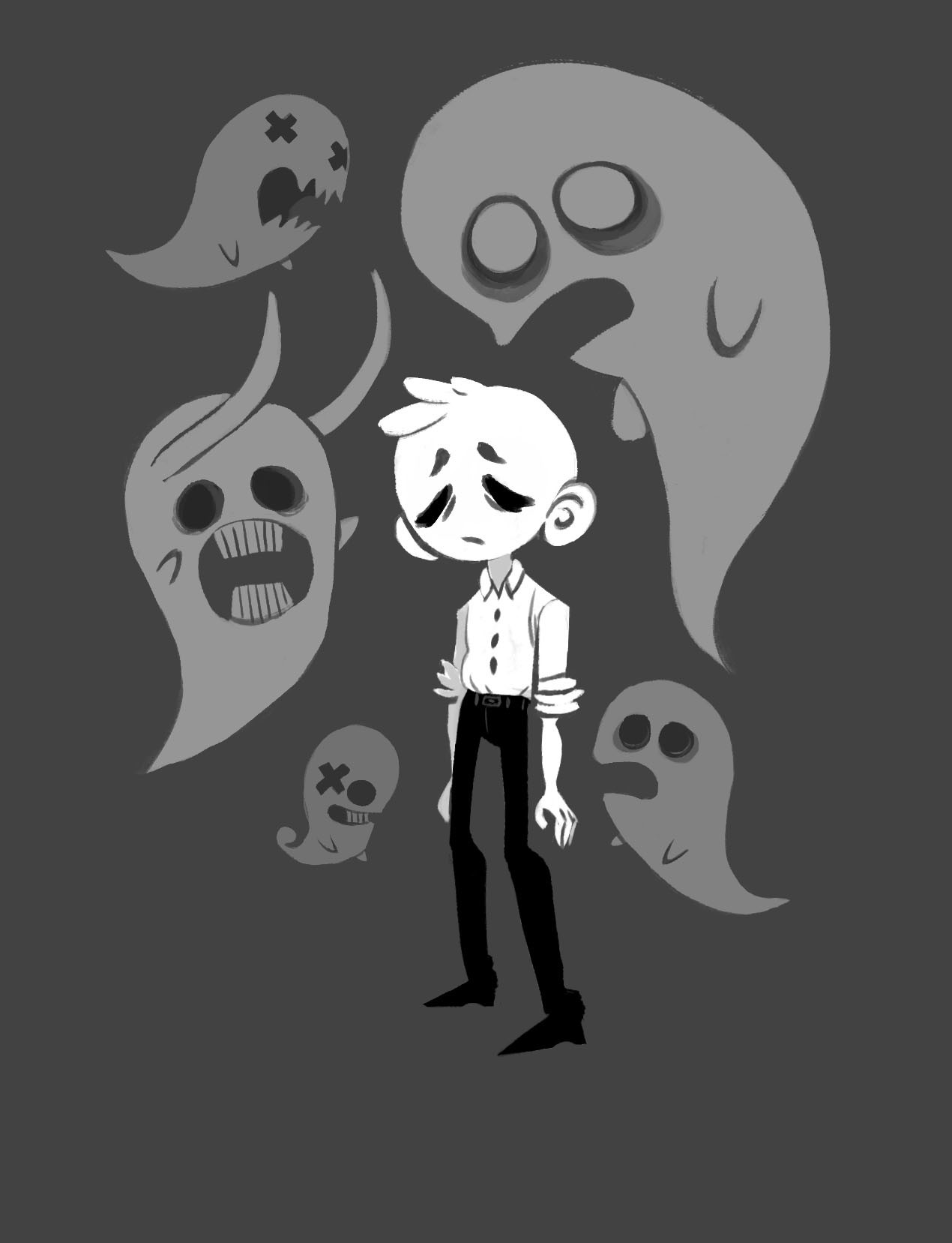 yodeki off mortis ghost fanarts