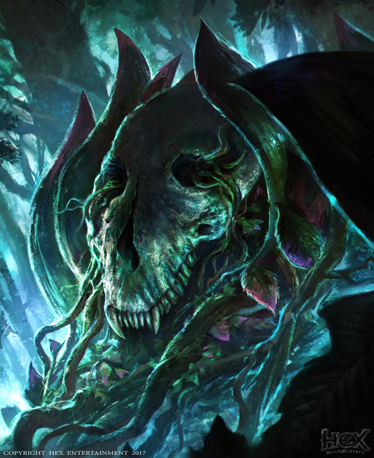 HEX TCG-Shards of Fate: Blightbush