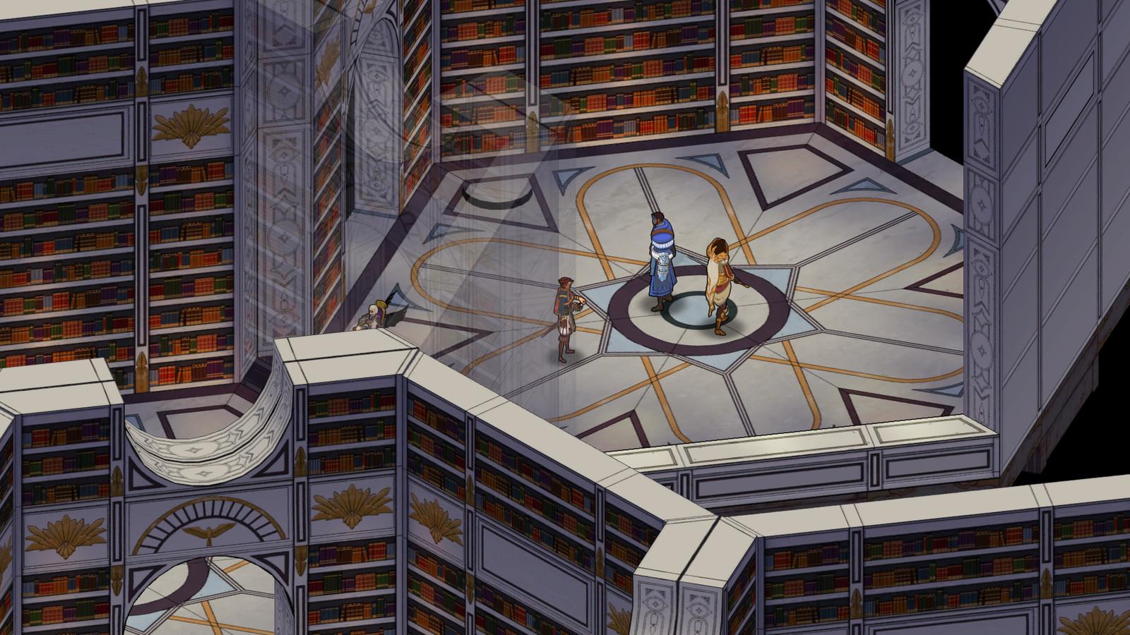 Screenshot of Assemblea library area