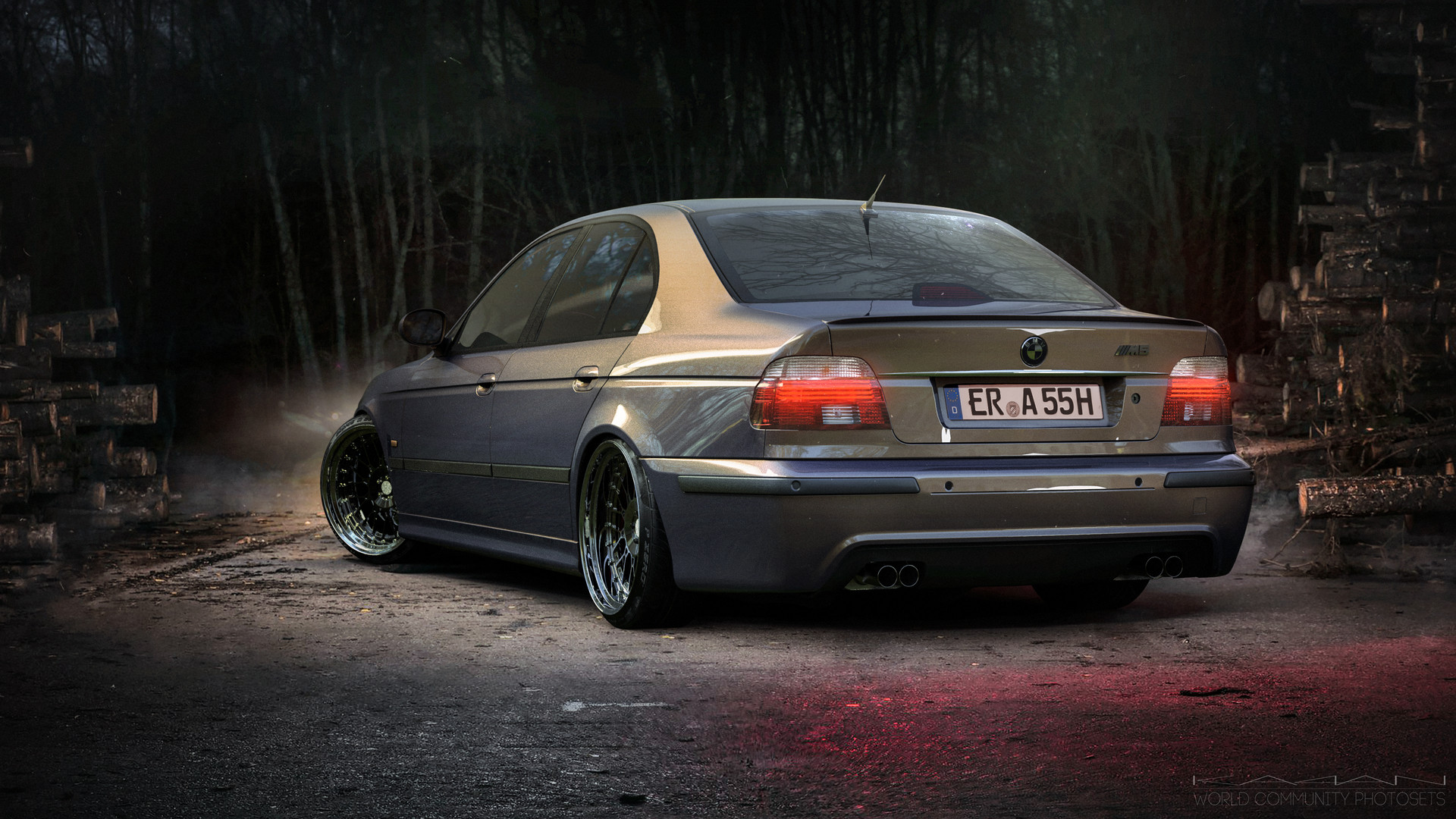 Artstation Bmw M5 E39 Stance Nickolay Polishchuk