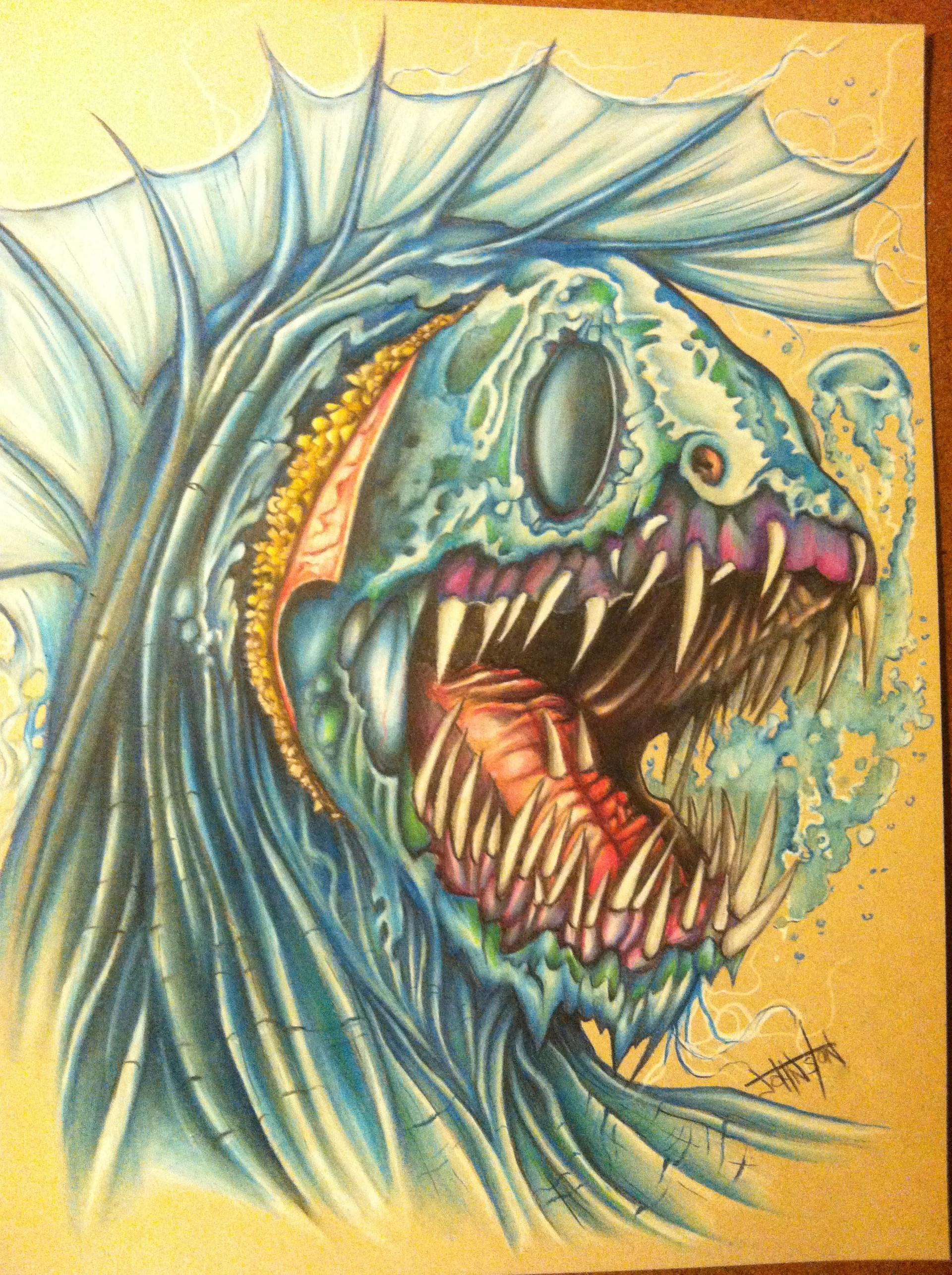 Mike johnston ruinedworld wip prismacolor03