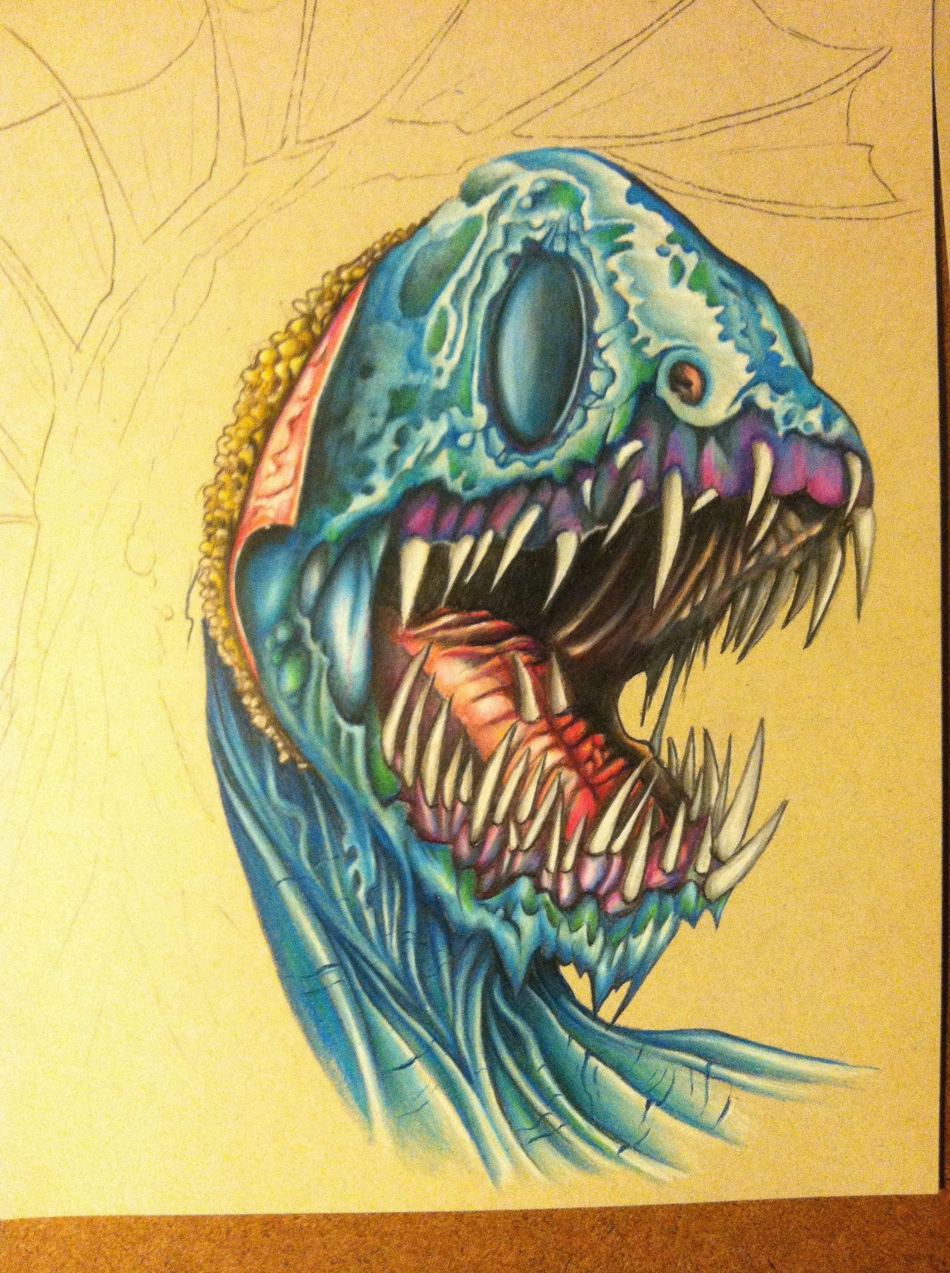 Mike johnston ruinedworld wip prismacolor02