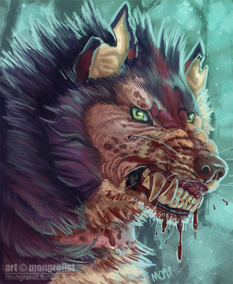 M o hanlon werewolf blurrybearych