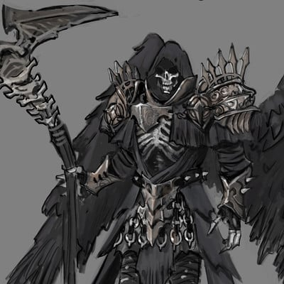 John bridges thanatos grimreaper finalart