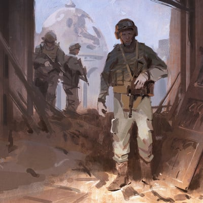 Nick gindraux soldier study2b