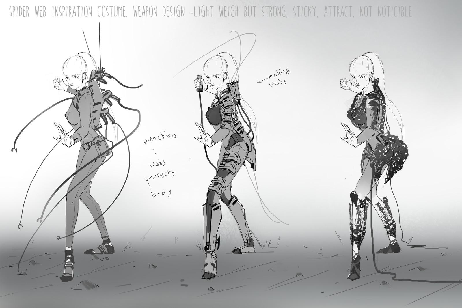 Idea sketches set 03
