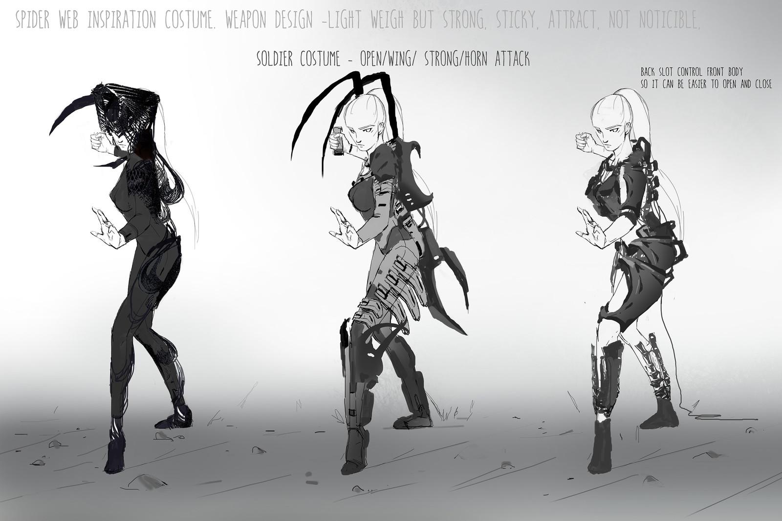 Idea sketches set 04