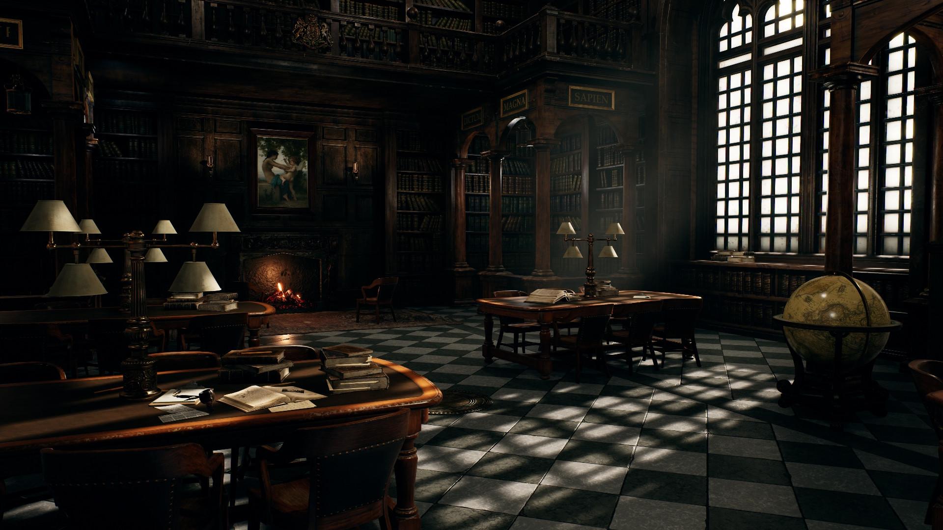 ArtStation - Hogwarts Library, Jayson Kassis