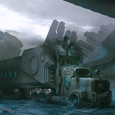 Eric basiletti camion5 painting 4 final 1