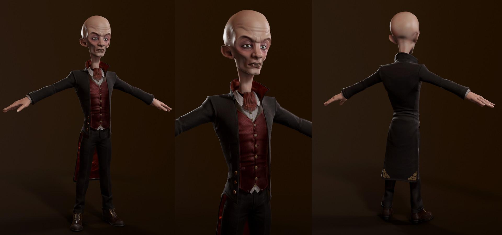 Realtime Cartoon Vampire