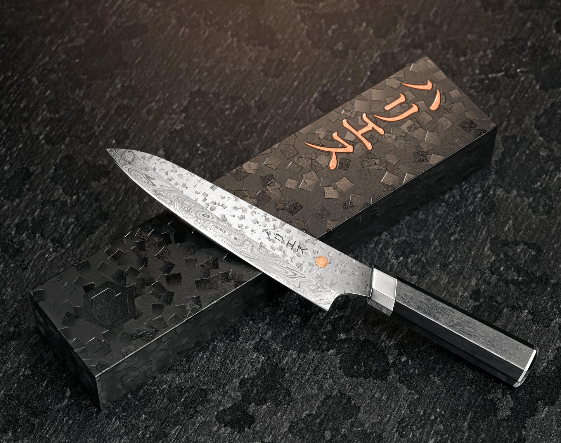 Artstation Japanese Chef Knife Substance Designer Oliver Harries