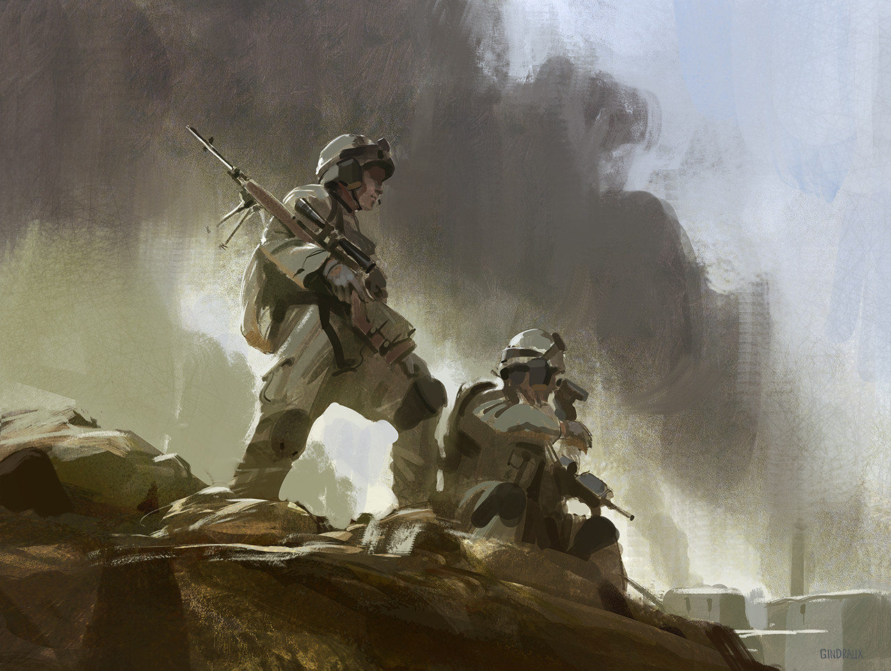 Nick gindraux soldier study3 artstation