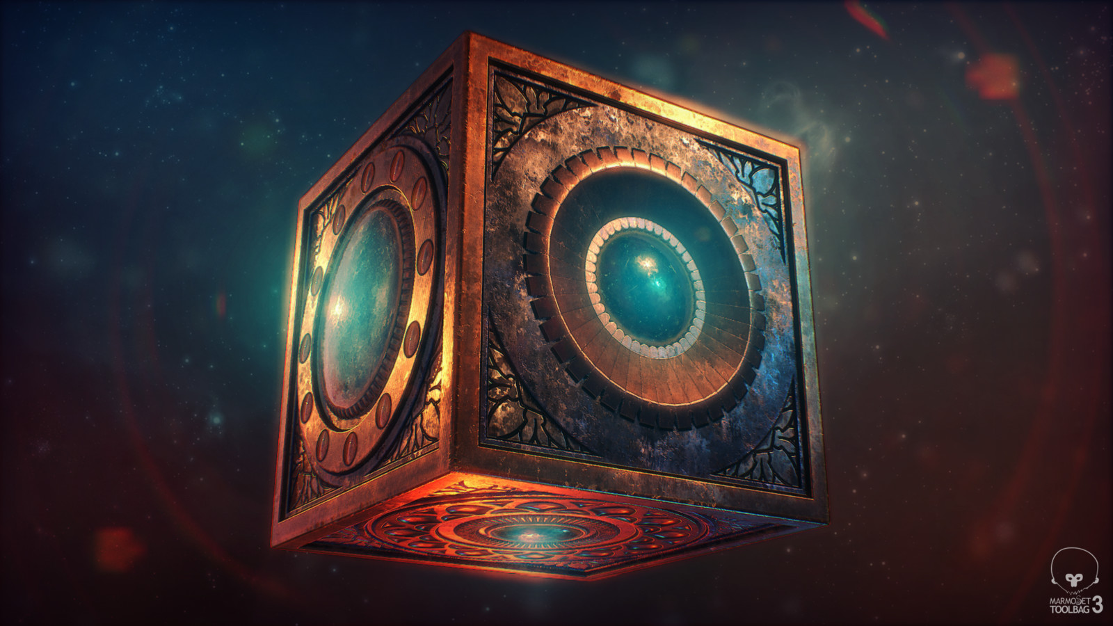 ArtStation - New Gods Mother Box, Monica Espinoza