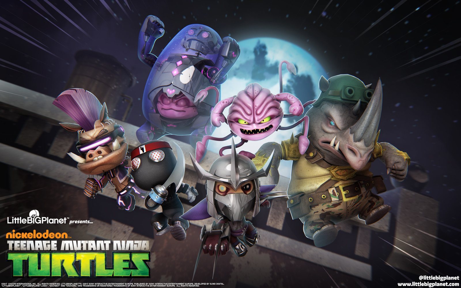 Little Big Planet 3 - TMNT Bad Guys DLC, Marketing