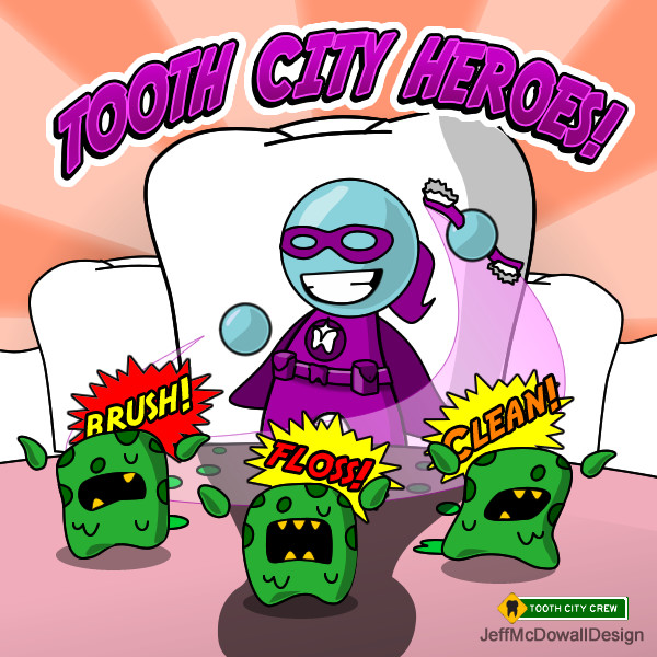 Tooth Girl, Tooth City Hero