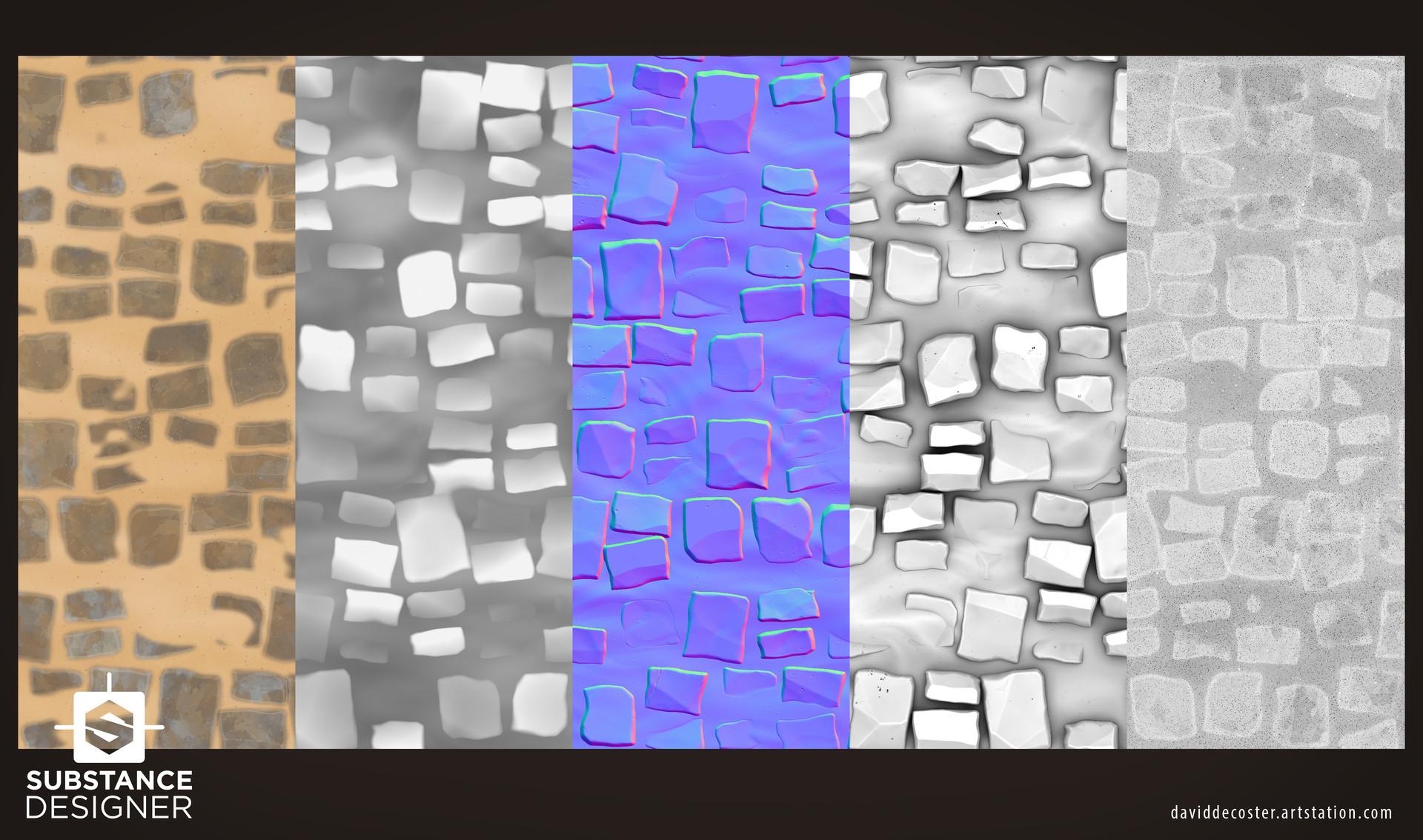 David decoster decoster sandy bricks textures