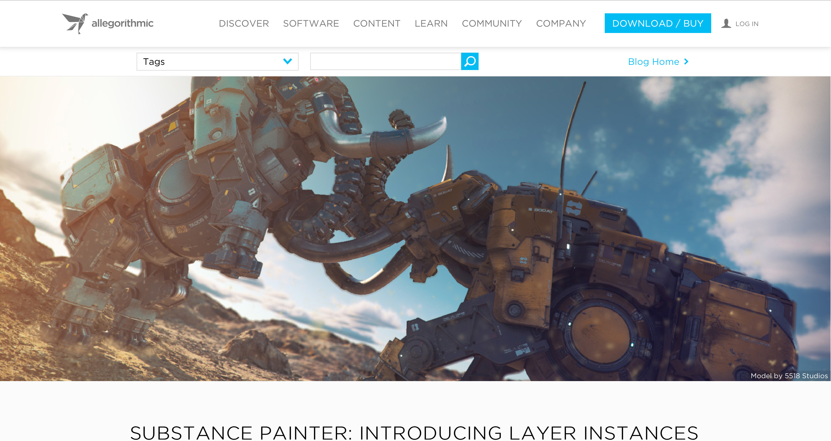 Promo : SUBSTANCE PAINTER: INTRODUCING LAYER INSTANCES