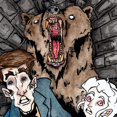 Thomas roberts goulden appalling adventures tunnel bear rather drawn