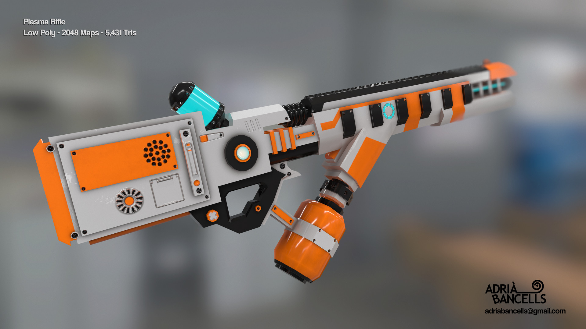 Adria bancells plasma rifle2