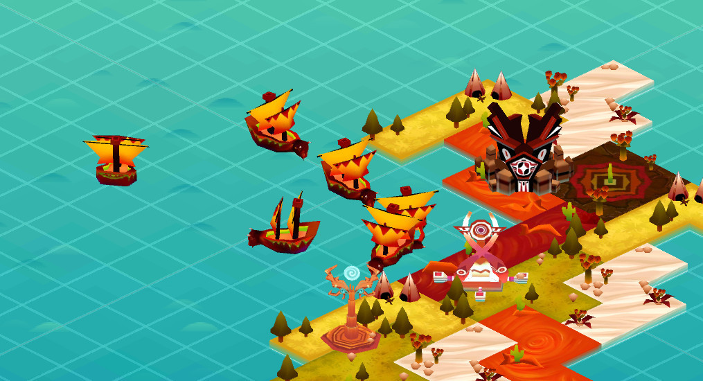 Worship: Sailing Spirits -  Tower defense mobile game made on Unity