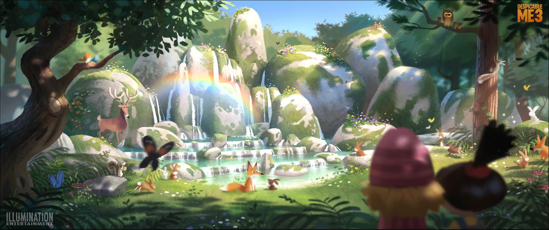 Ludo gavillet unicorn forest lg