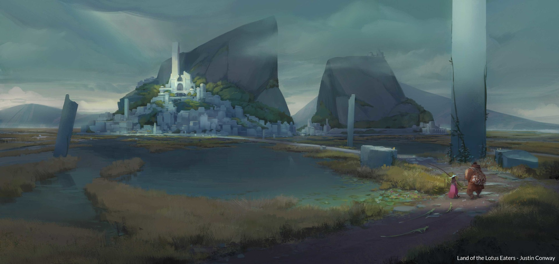 Artstation land of the lotus eaters justin conway scroll to see more izmirmasajfo
