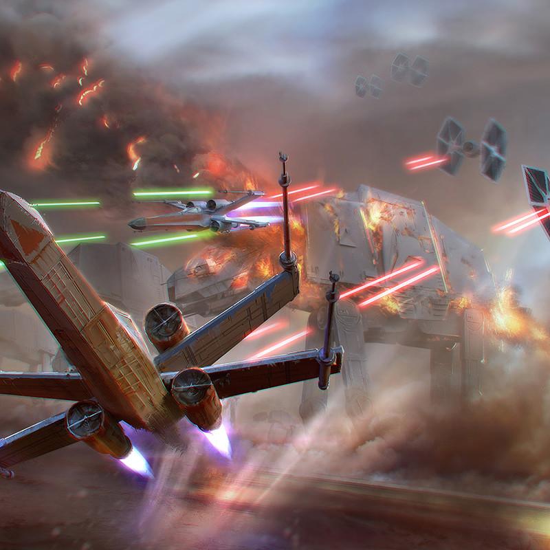 Starwars ILM challenge