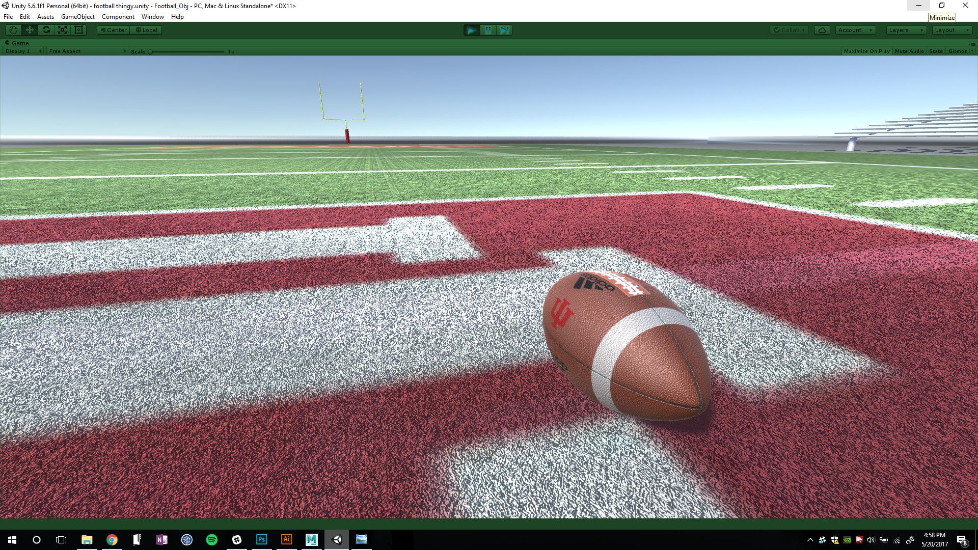 Testing Football Normal & and Grass Normal (WIP)