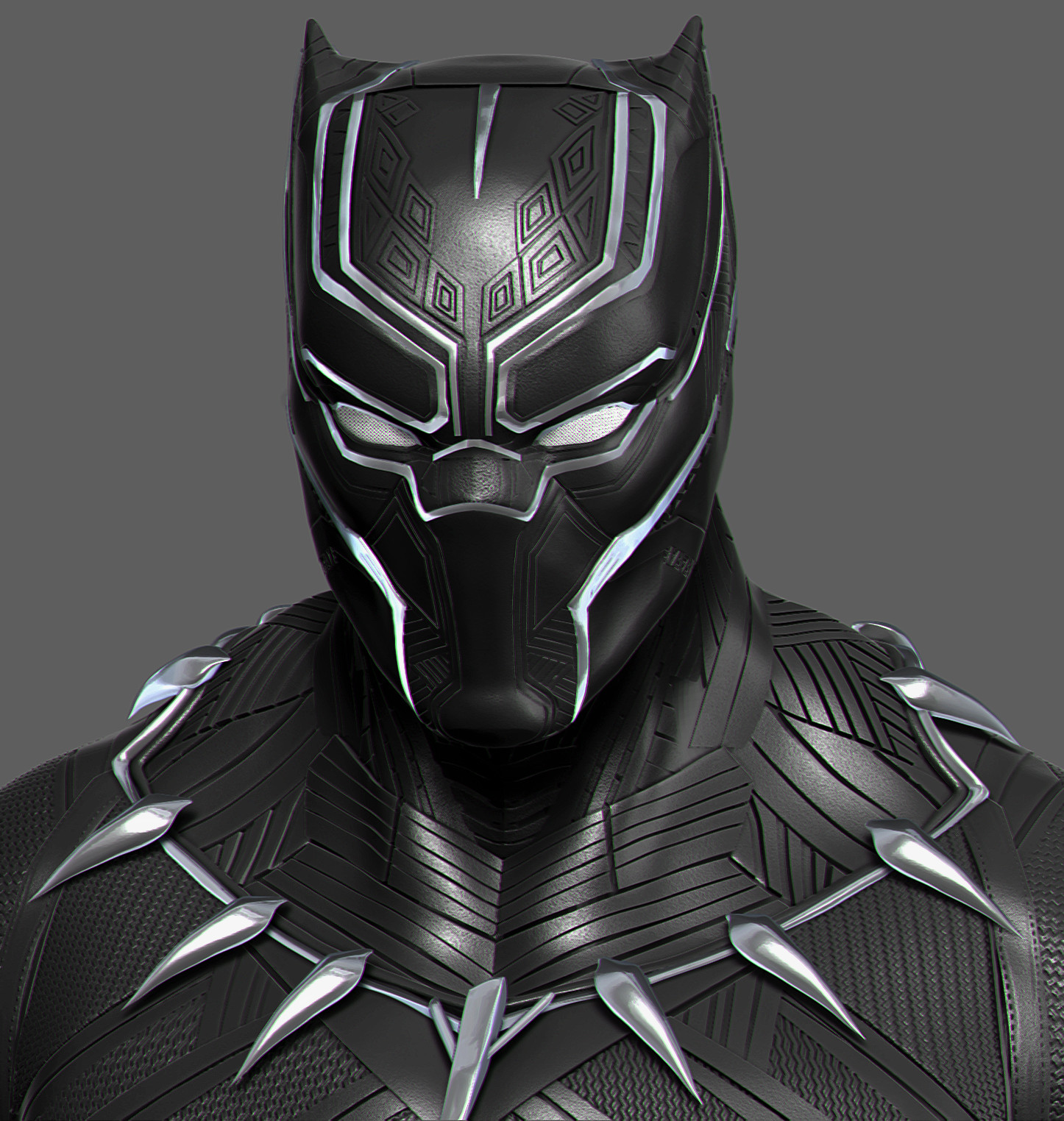 artstation - black panther (civil war suit), mars .