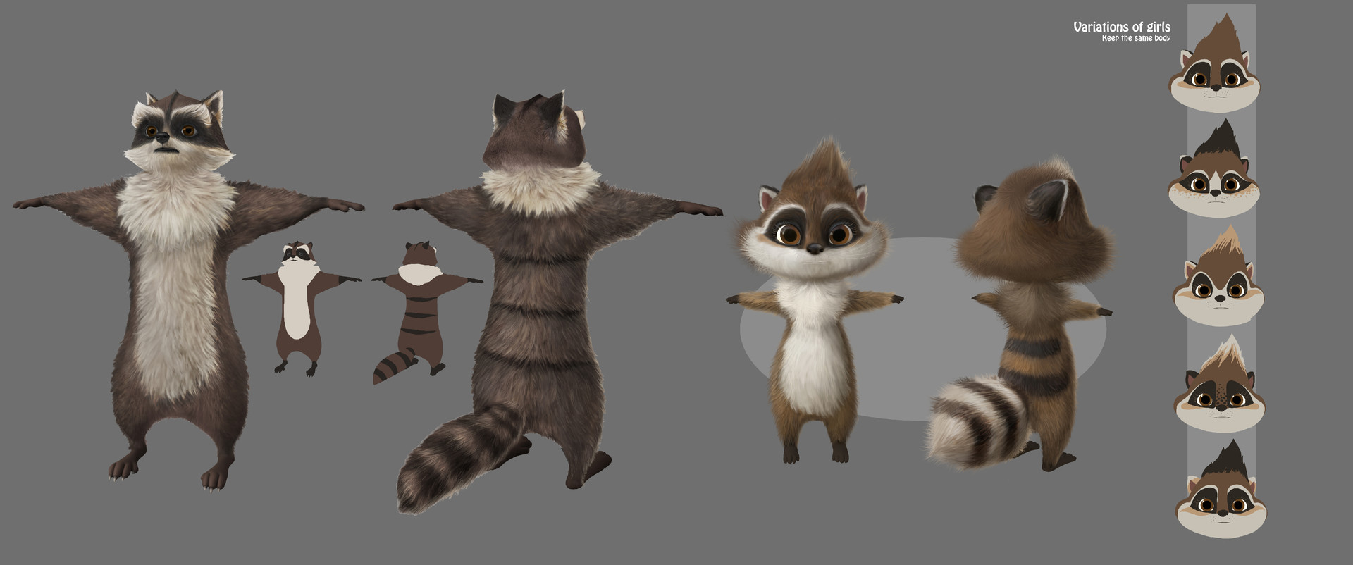ArtStation - Raccoon look - Son of Bigfoot, Chully Bunny