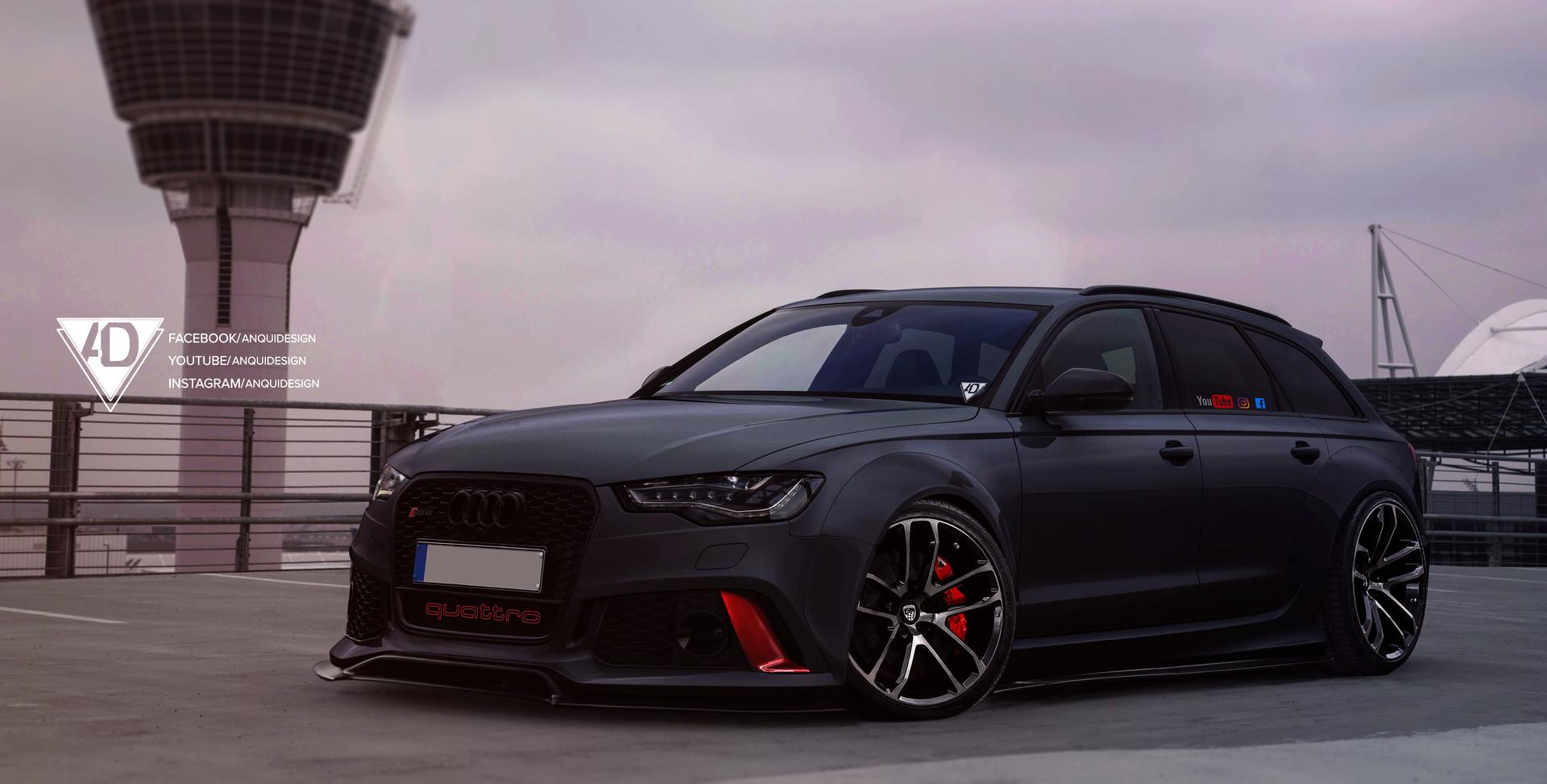 Artstation Audi Rs6 Toni Kostov