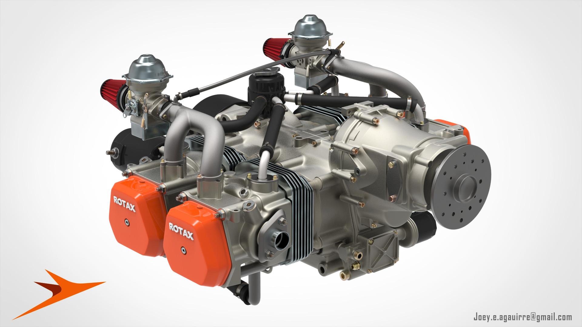 Joey Aguirre - Rotax 912 Engine