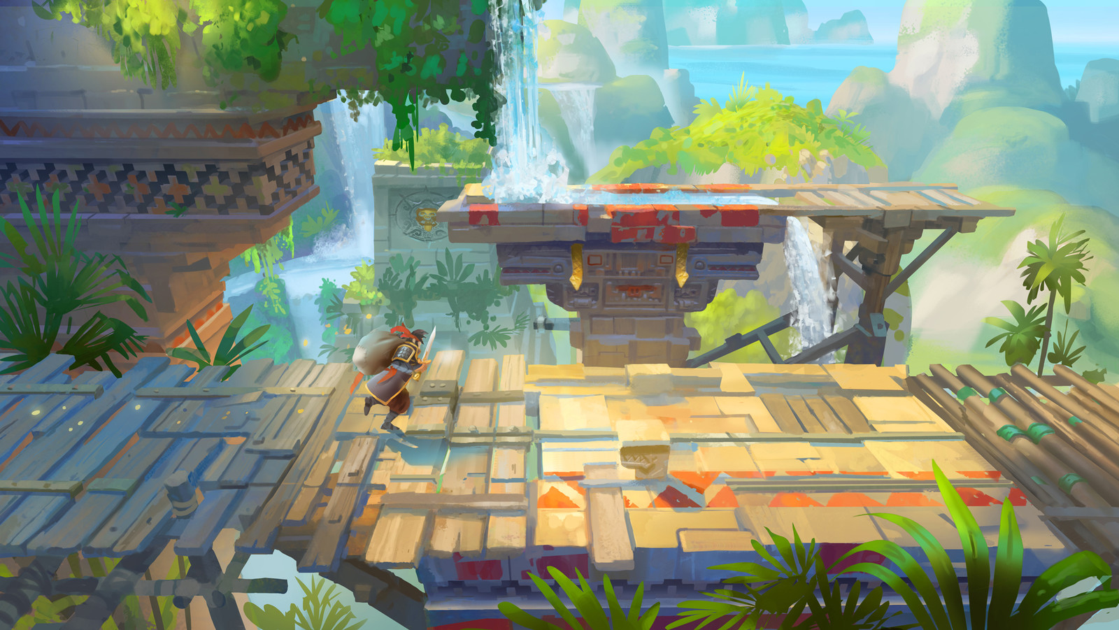Adventure Mobile Game - In-game Concept Arts